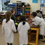 Image of a STEM lesson at Hallfield School.
